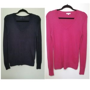 GAP| Two Sweater Bundle Size Medium